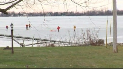 Two fisherman drown in Sandy Creek pond