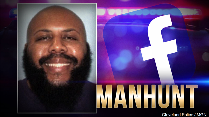 Facebook murder suspect shot and killed himself