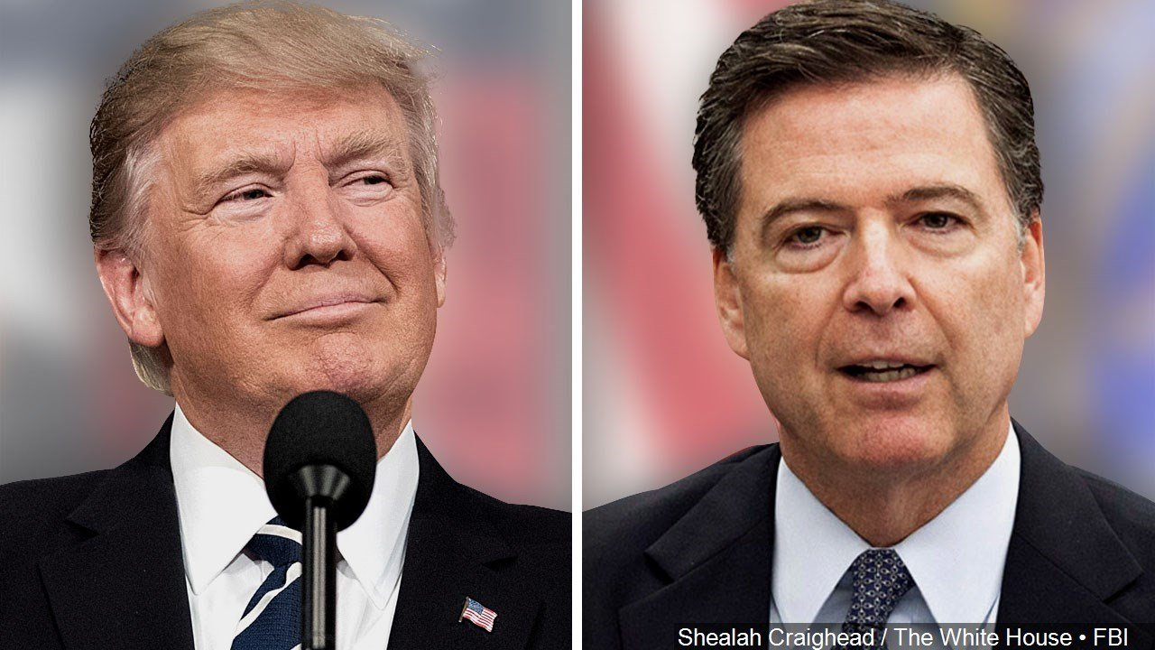 Comey knew Clinton email info was fake, created by Russia