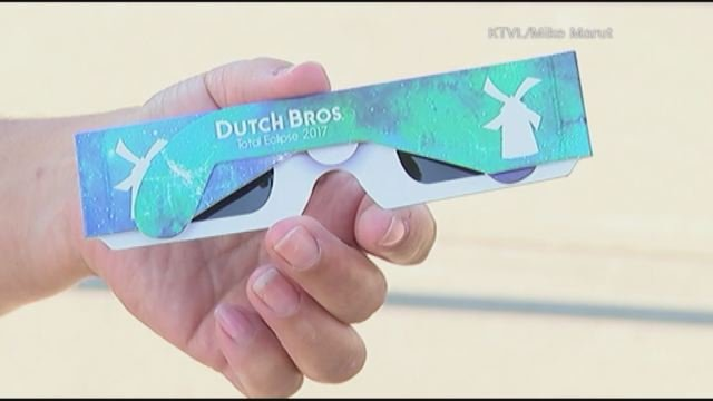 Solar eclipse glasses recalled by Dutch Brothers Coffee
