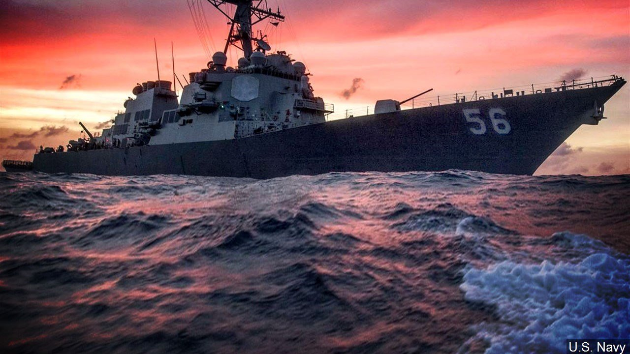 MI man among 10 missing sailors after USA warship crash