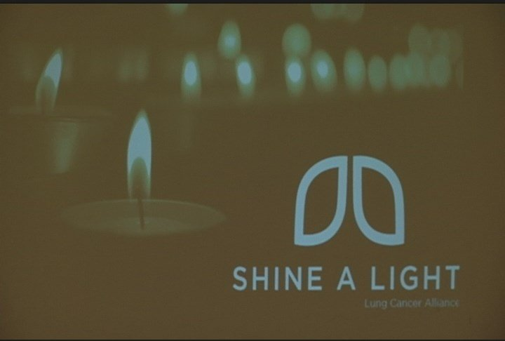 Shining a light on lung cancer awareness