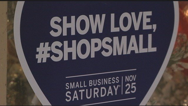 Small Business Saturday sells low-key community cheers