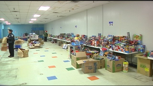 Toy Drive kicks off in Columbiana County