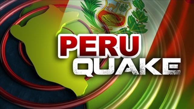 2 killed as magnitude 7.3 quake hits off Peru