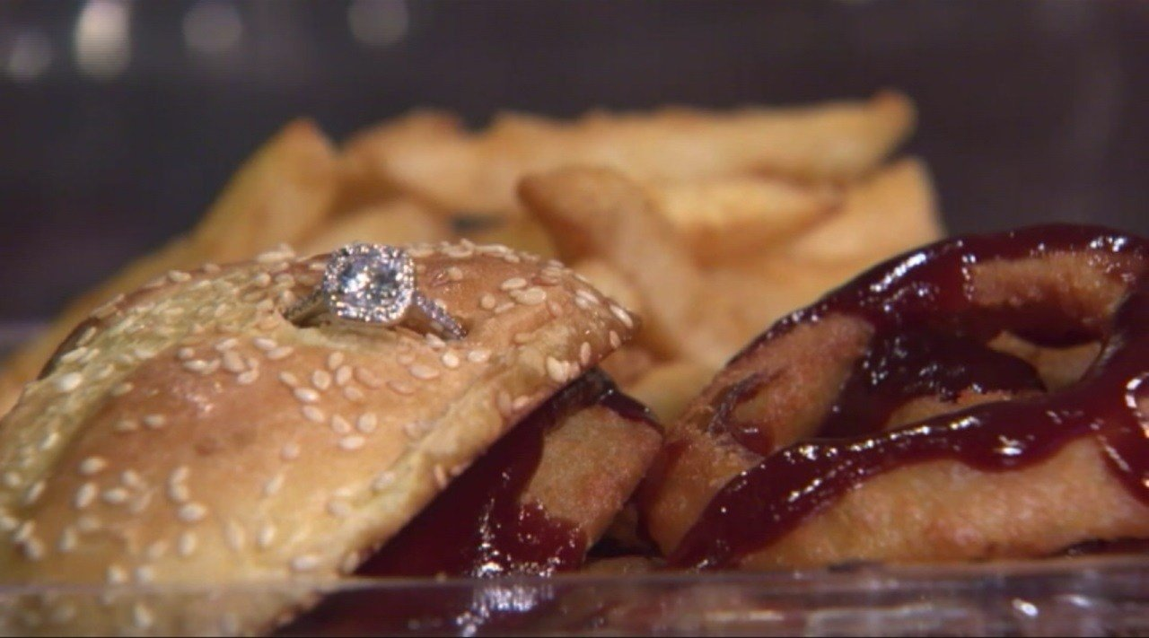 Valentine's special: Boston restaurant offers $3K burger with engagement ring