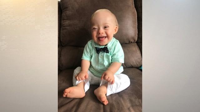 Dalton baby chosen as 2018 Gerber Spokesbaby