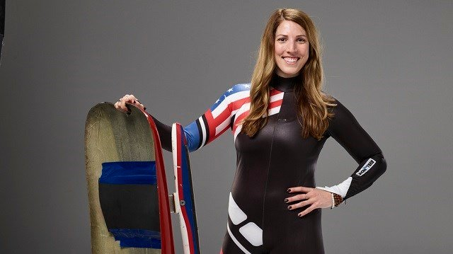 Utica's Erin Hamlin named Olympic flag bearer for Team USA