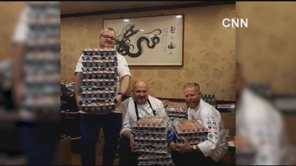 Norway's Olympic Cooks Gets 15000 Eggs Instead of 1500