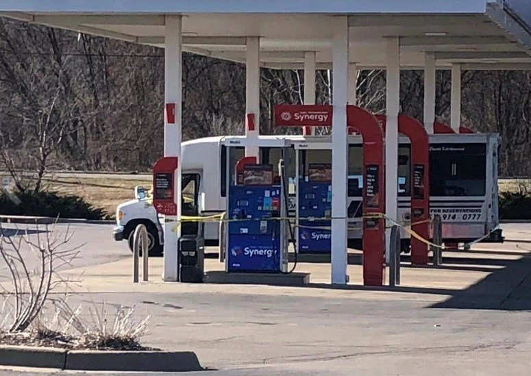 Suspect wanted in Rockford charter bus shooting