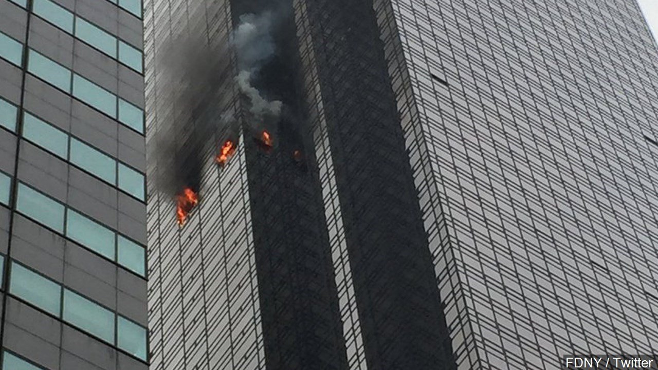 Trump Tower fire death victim named