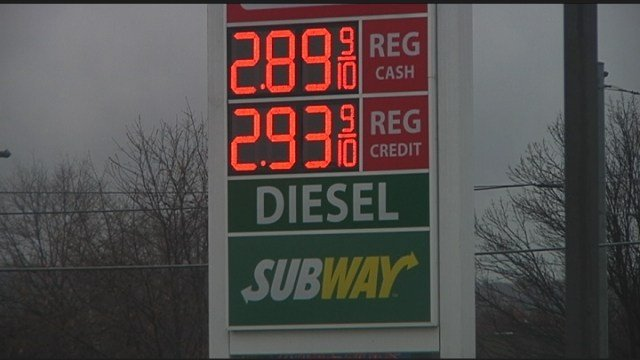 Gas prices rise over $3 mark locally