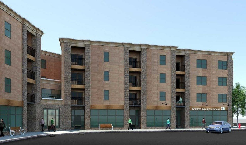 Rendering of 435 State St. Project - Photo provided by City of Binghamton