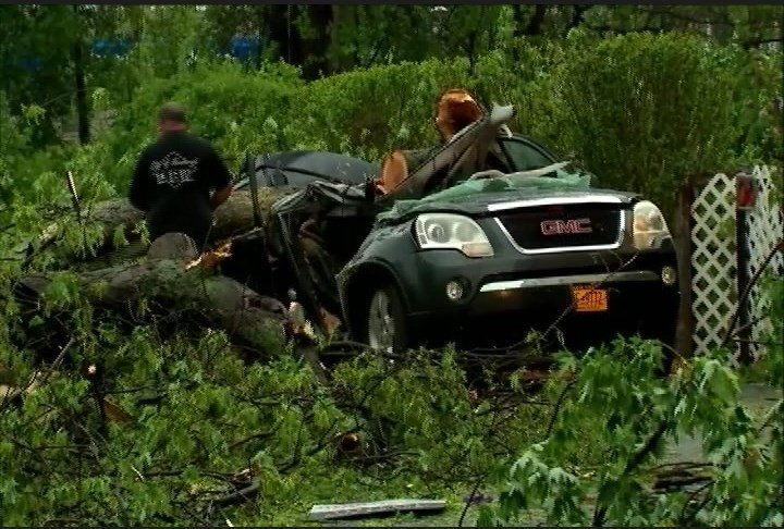 11-year-old Girl Killed, Mom Injured by Downed Tree